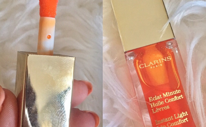 Product Review: Clarins Instant Light Lip Comfort Oil