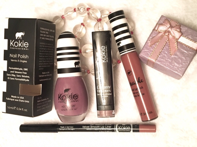 "Kokie Cosmetics ""What's the Mauve?"" Bundle Review"